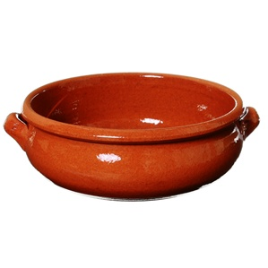 8 Inch Deep Cazuela With Belly Terra Cotta Dish La Paella
